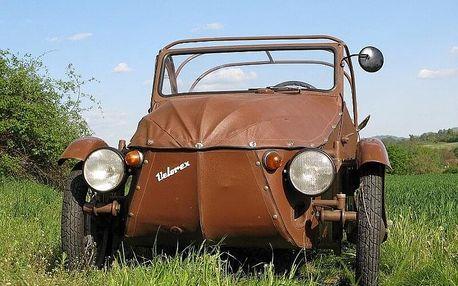 Spolujízda legendární tříkolkou Velorex 350