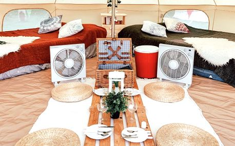 Singapur: Luxury Bell Tent