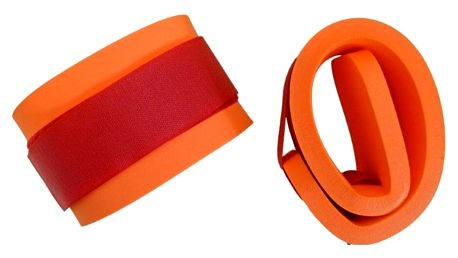Marimex   Nadlehčovací rukávky na suchý zip - oranžová   116302033