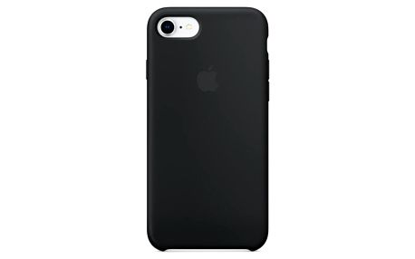 Kryt na mobil Apple Silicone Case pro iPhone 8/7 černý (MQGK2ZM/A)