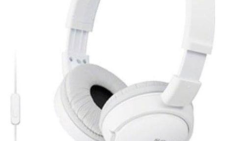 Sluchátka Sony MDRZX110APW.CE7 bílá (MDRZX110APW.CE7)