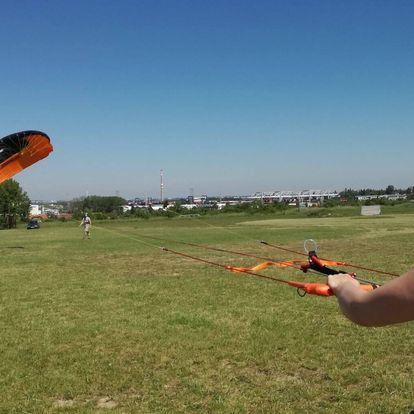 Poznej sílu větru na kurzu Landkitingu