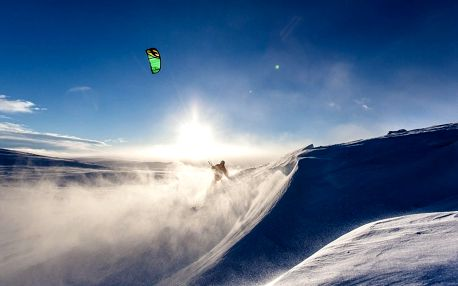 Jednodenní kurz snowkitingu