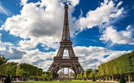 4-denní poznávací zájezd do Paříže v termínu 1 - 4.8.2019