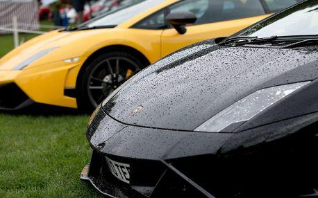 Nezapomenutelná jízda v Lamborghini Gallardo LP560-4