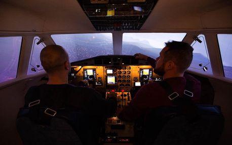 Letecký simulátor: let v dopravním letounu L410