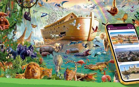 Venkovní úniková hra Noemova archa - ideální pro rodiny s dětmi