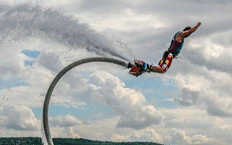 Flyboarding v Hradci