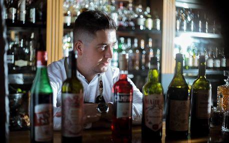 Oceňovaný jednodenní barmanský kurz pod vedením profesionála
