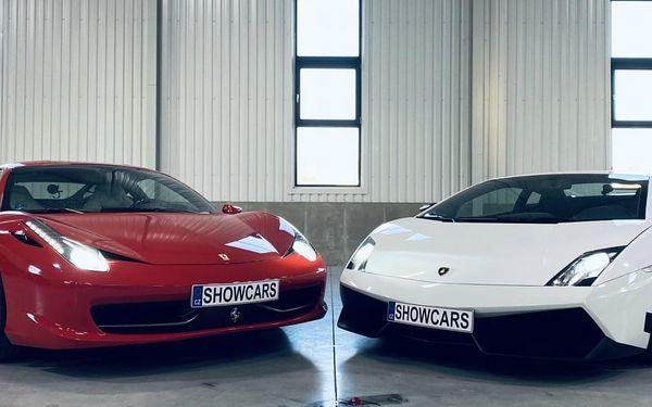 2 luxusní sporťáky: Lamborghini vs. Ferrari2