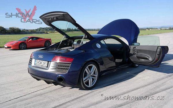 Jízda v Audi R8 V10 PLUS2