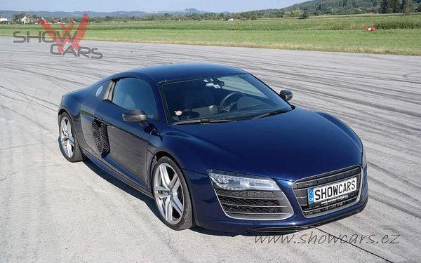 Jízda v Audi R8 V10 PLUS4