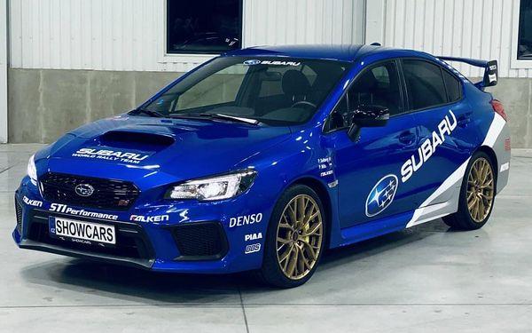Jízda v Subaru Impreza WRX STI3