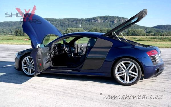 Jízda v Audi R8 V10 PLUS5