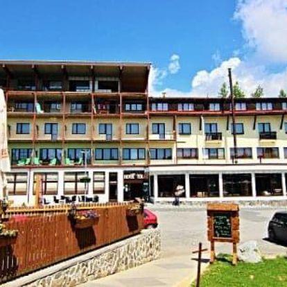 Letní wellness dovolená v Tatrách na Štrbském Plese v hotelu Toliar s polopenzí a bazény