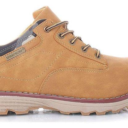 TOPLAY Pánské karamelové boty 6791-3CA Velikost: 44 (29 cm)
