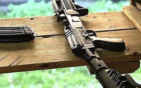 Adrenalinový zážitek na střelnici. Tři nabité balíčky na výběr. Střelnice Jelen u Kolína a Chotěboř