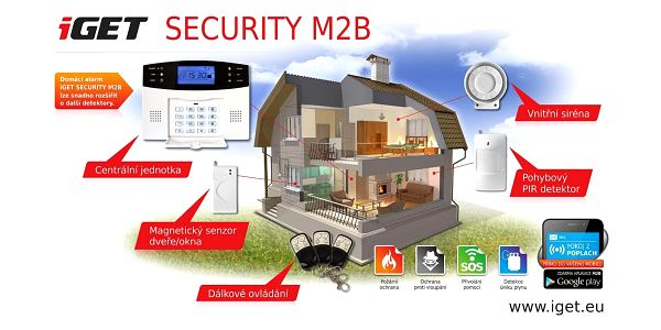 Alarm iGET SECURITY M2B (M2B)4