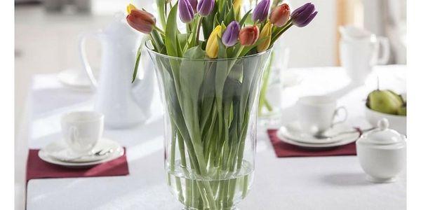 Altom Skleněná váza Elena, 35 cm3