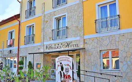 Maďarsko: Hotel Nefelejcs