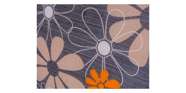Vetro-Plus Polstr na houpačku 130 cm, vzor květy3