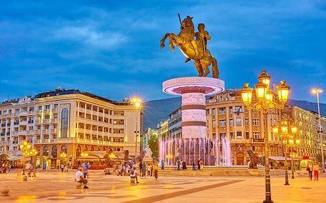 Makedonie autobusem na 5 dnů, polopenze