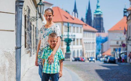 Komentované procházky Prahou až pro 2