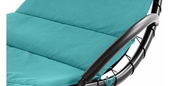 Garthen EDEN 41001 Luxusní závěsné lehátko - tyrkysová2