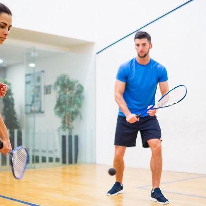Sport i relax pro 2: squash a privátní sauna