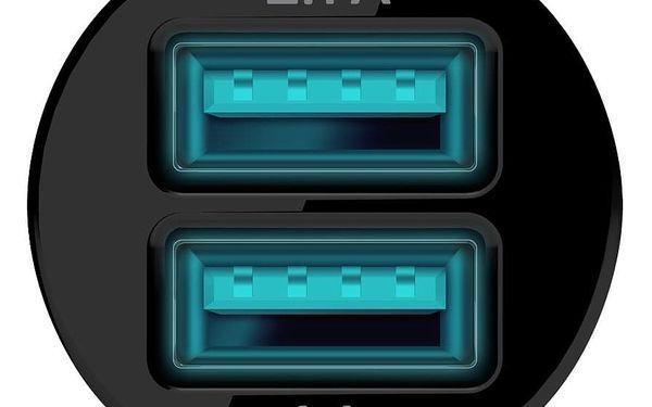 Adaptér do auta Connect IT 2x USB, 2.1A/1A (CI-176) černý5