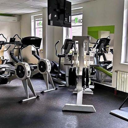 Měsíční permanentka na fitness i skupinové lekce