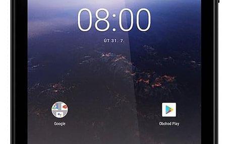"Dotykový tablet Umax VisionBook 7Qa 3G (UMM2407QA) černý 7"", 8 GB, WF, BT, 3G, GPS, Android 8.1"