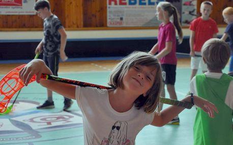 Letní florbalový tábor plný zážitků v Trutnově