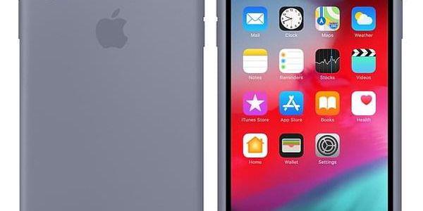 Kryt na mobil Apple pro iPhone Xs Max - levandulově šedý (MTFH2ZM/A)2