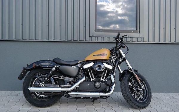 Pronájem motorky Harley Davidson Forty-Eight, 1 hodina, počet osob: 1 osoba, Praha (Praha)2