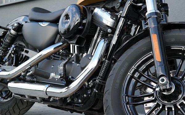 Pronájem motorky Harley Davidson Forty-Eight, 1 hodina, počet osob: 1 osoba, Praha (Praha)4