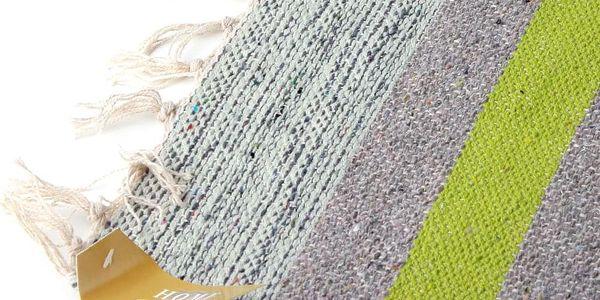Emako Koberec dekorativní, rohožka z bavlny, 60x90 cm2