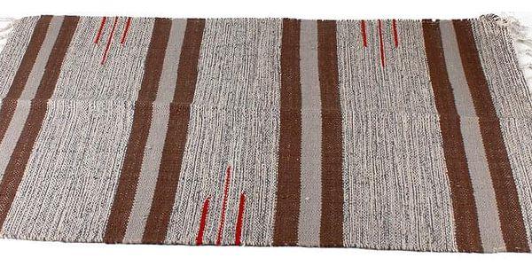 Emako Koberec dekorativní, rohožka z bavlny, 60x90 cm4