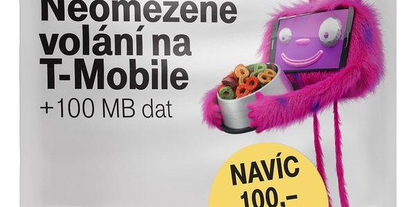 SIM karta T-Mobile SIM s kreditem T-mobile Twist V síti 200 Kč kredit - hlasové volání (719100)2