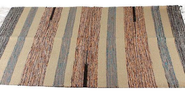 Emako Koberec dekorativní, rohožka z bavlny, 60x90 cm5