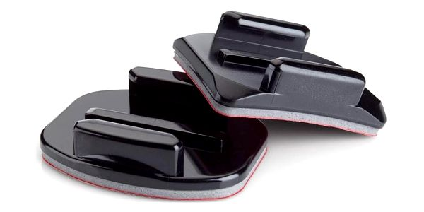 Sada držáků GoPro Curved + Flat Adhesive Mounts (AACFT-001) černý3