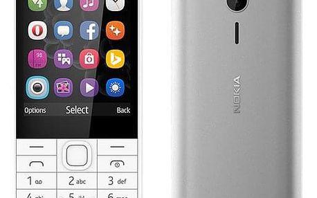 Mobilní telefon Nokia 230 Dual SIM bílý (A00026951)