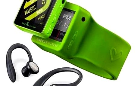 MP4 přehrávač ENERGY SISTEM 2508 Sport 8GB Lime Green