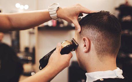 Precizní pánský střih od profesionálních stylistů