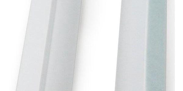 Gardinia Boční vodicí lišta pro Mini rolety bílá, 150 cm, sada 2 ks2