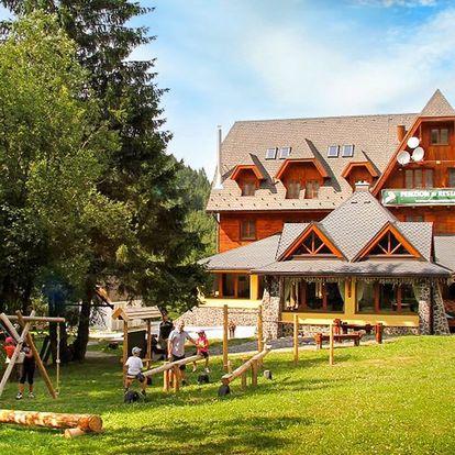 Letní dovolená a vstup do Tatralandie či Bešeňové