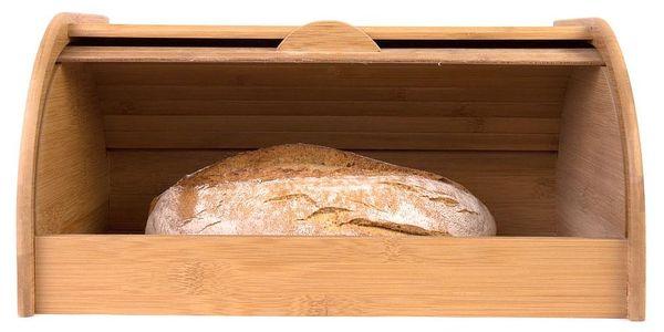 Bambusový chlebník, box na chleba, 40x26x20cm, ZELLER5