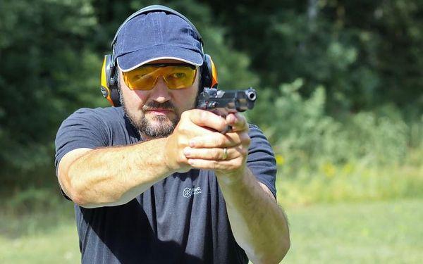 Střelba na střelnici - zbraně speciálních jednotek2