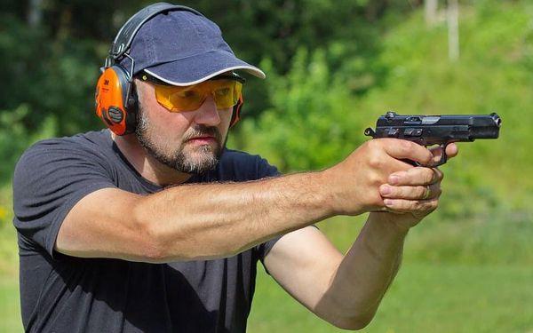 Střelba na střelnici - parádní palba2
