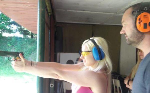 Střelba na střelnici - parádní palba5